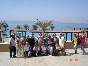 Dans le fond Israël